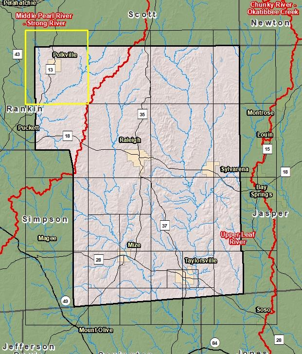 Risk Map - Smith County Smith County Map Site on leflore county map site, tyler map site, white county map site,